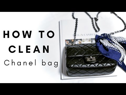 HOW TO CLEAN/MAINTAIN A LEATHER CHANEL BAG