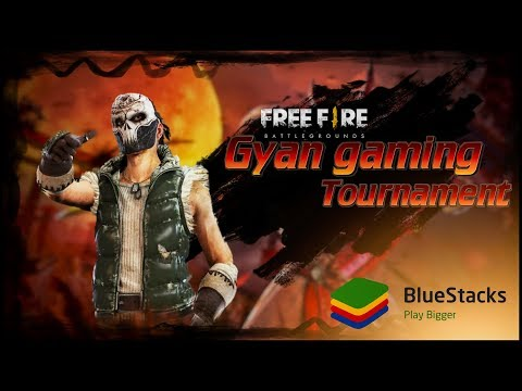 FREE FIRE TOURNAMENT !! Powered By BlueStacks