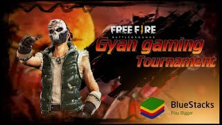 Gambar cover FREE FIRE TOURNAMENT !! Powered By BlueStacks