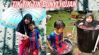 Tik Tik Tik Bunyi Hujan - Main Hujan - Lagu Anak Populer