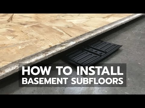 how-to-install-basement-subfloors-properly
