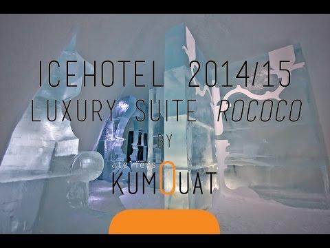 ICEHOTEL 2014/15 - Deluxe Suite Rococo by ateliers kumQuat