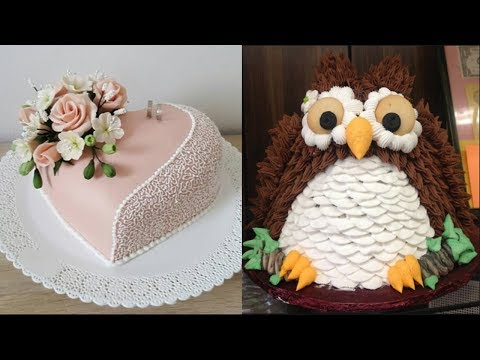TOP 10 CAKES DECORATING - Most Satisfying Cake Decorating Video - Cakes Style 2017