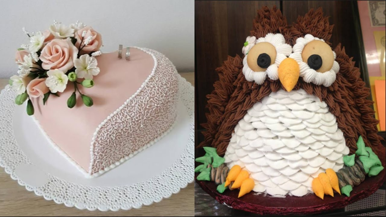 TOP 10 CAKES DECORATING - Most Satisfying Cake Decorating ...