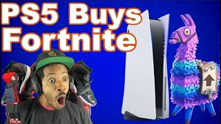 PS5 Buys Fortnite | Nintendo Switch Pro Specs | PS5 Box Art & Backwards Compatibility