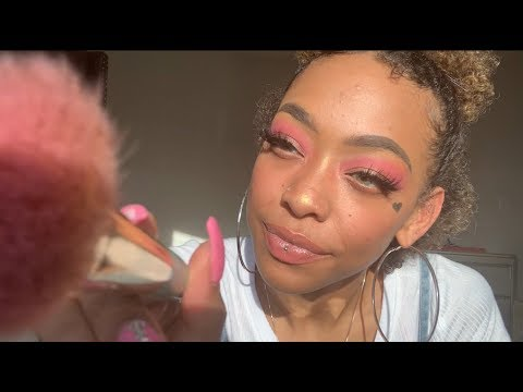 ASMR | MUA Does Your Makeup For Valentines Date Night ❤️ | Roleplay