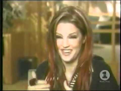 Lisa Presley insulting Michael Jackson