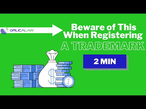 🟢⚖️ Beware of this when registering a Trademark!