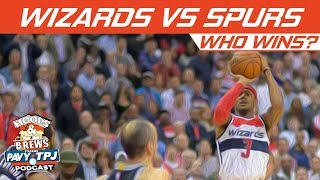 Washington Wizards vs Spurs, Who will win ? | Hoops N Brews thumbnail