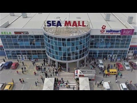 Пожарная тревога в ТЦ Sea Mall г.Севастополь