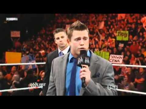 WWE RAW - 23.5.11 Alex Riley attacking The Miz