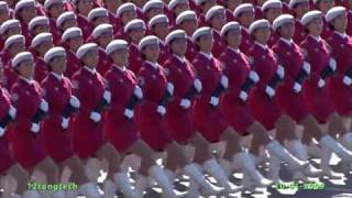 60th China anniversary National Day Parade by Girls