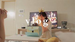 은제꽃의 일상 vlog l Happy Birthday …