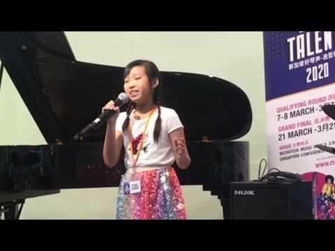 Singapore Got Talent 2020 Audition (9 Yrs Old)