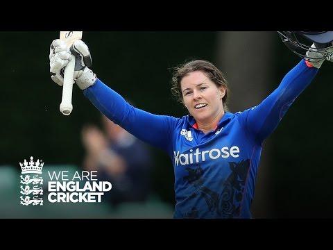 Beaumont makes historic century - England women v Pakistan women highlights