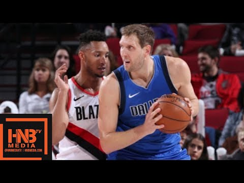 Dallas Mavericks vs Portland Trail Blazers Full Game Highlights / Jan 20 / 2017-18 NBA Season