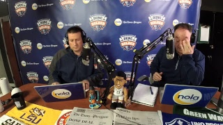 Dunc and Holder on Sports 1280 in New Orleans. March 14, 2018