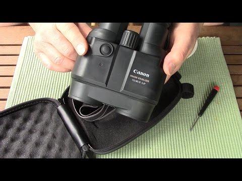 Repair Canon 12X36 IS Image Stabilizer Binoculars