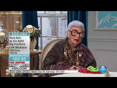 HSN | Rara Avis by Iris Apfel Jewelry 5th Anniversary 09.27.2016 - 02 AM