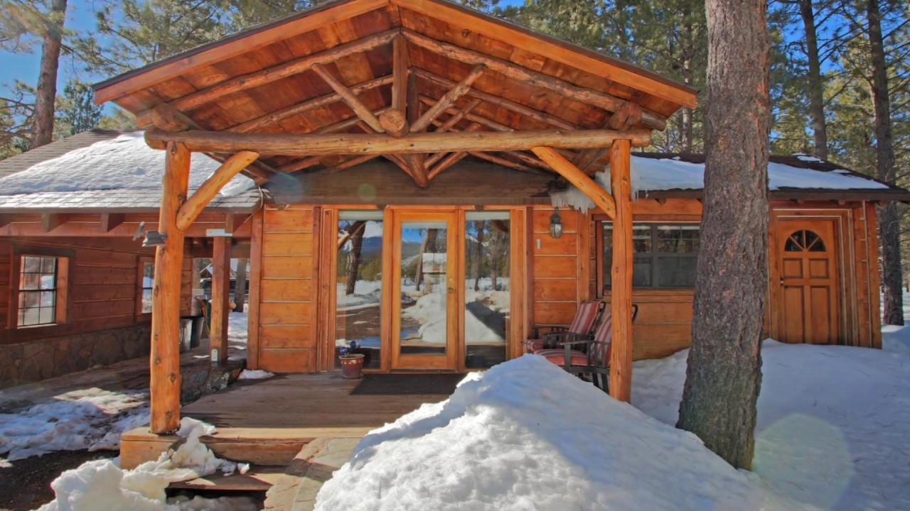 pines kona flagstaff this cabins dream rentals towering the rental in escape cabin to