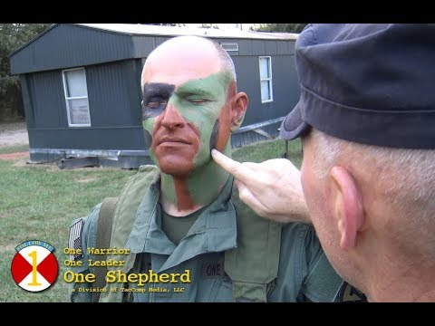 Techniques for how to properly camouflage the human face