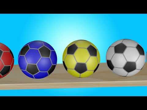 Разноцветные Канарейки Обучают Счёту  Учим Цифры Цвета  Развивающее видео для Детей