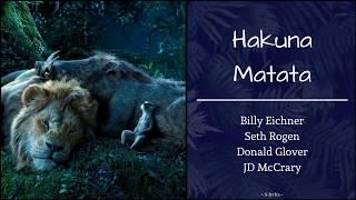 Gambar cover Hakuna Matata (The Lion King 2019) Lyrics