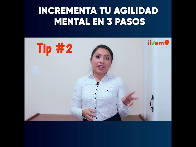 Incrementa tu agilidad mental en 3 pasos