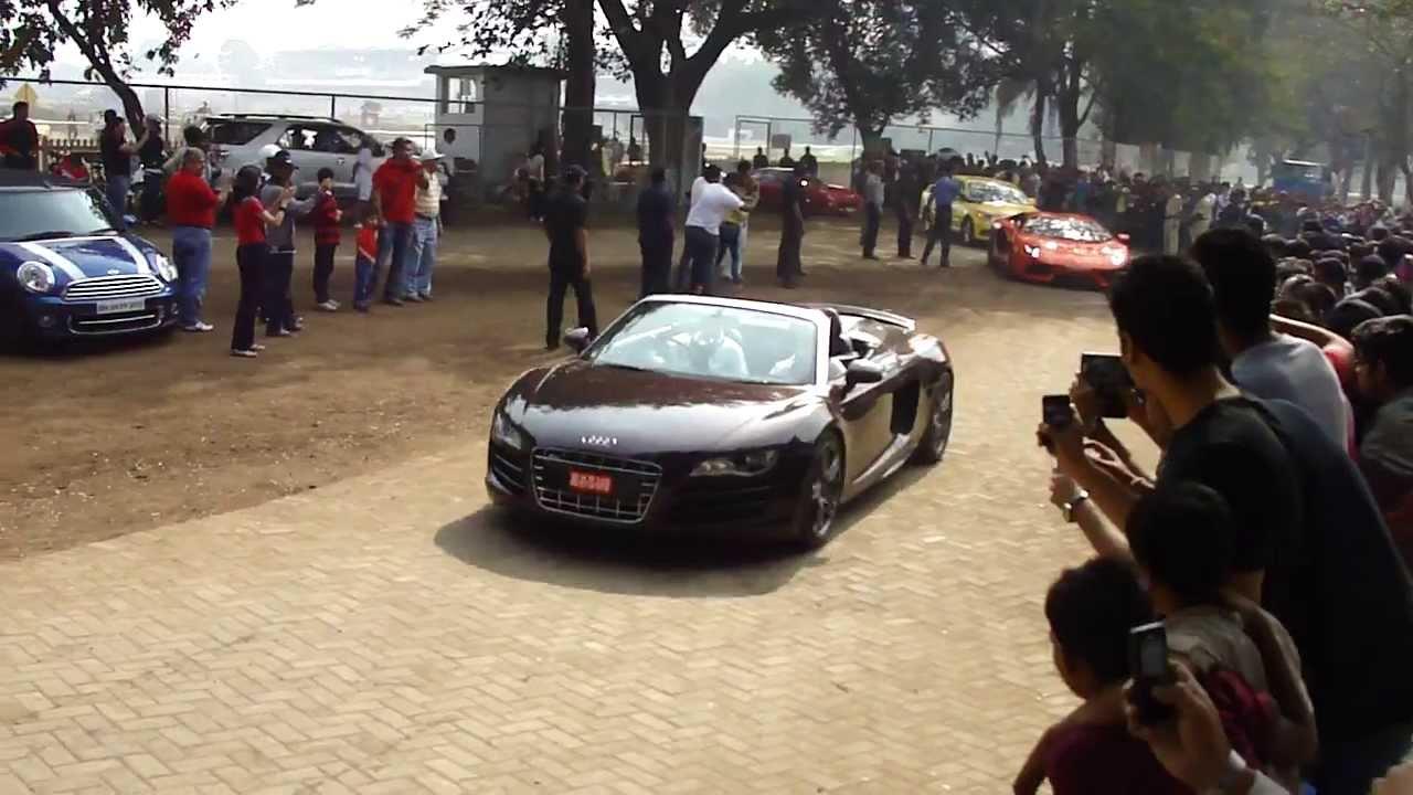 Super Car Rally Mumbai Flag Off Hd Youtube