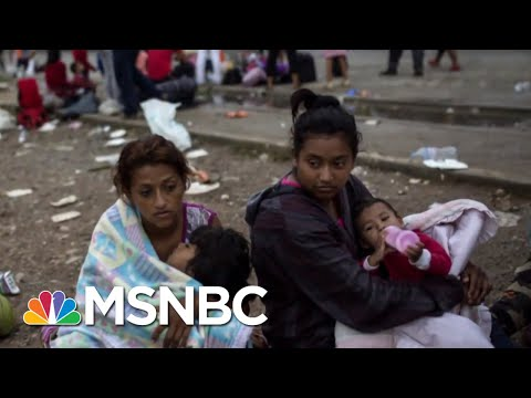 Troops Remain At Southern Border As Donald Trump Zeroes In On Caravan  Velshi & Ruhle  MSNBC