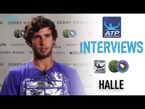 Khachanov Looks Ahead To QF Match Halle 2017