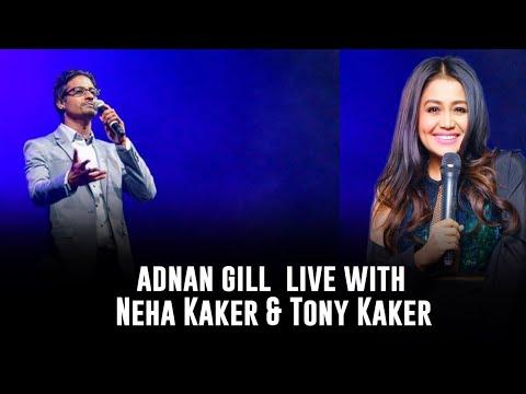 Adnan Gill Singing in front of Neha Kakkar and Tony Kakkar
