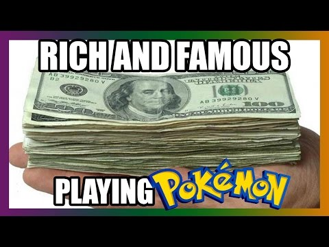 How to become rich and famous playing pokemon | Slowpoke Poetry