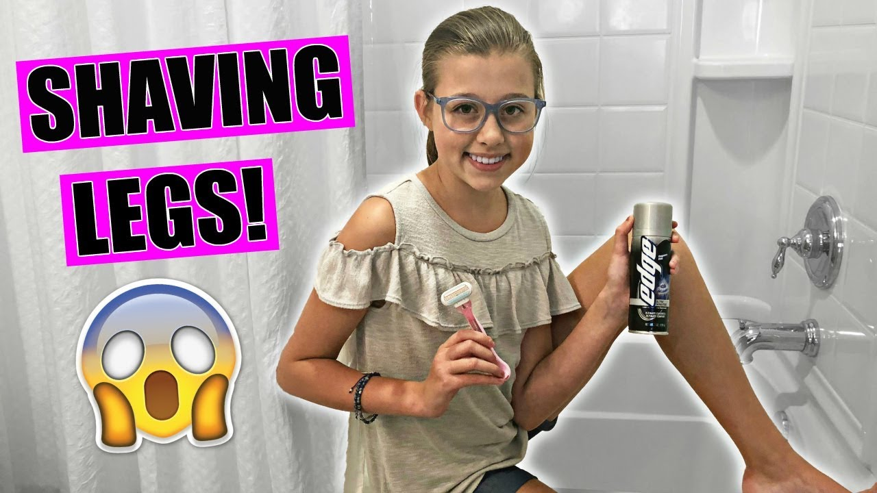 First Time Shaving Legs Teen Tips And How To Shave
