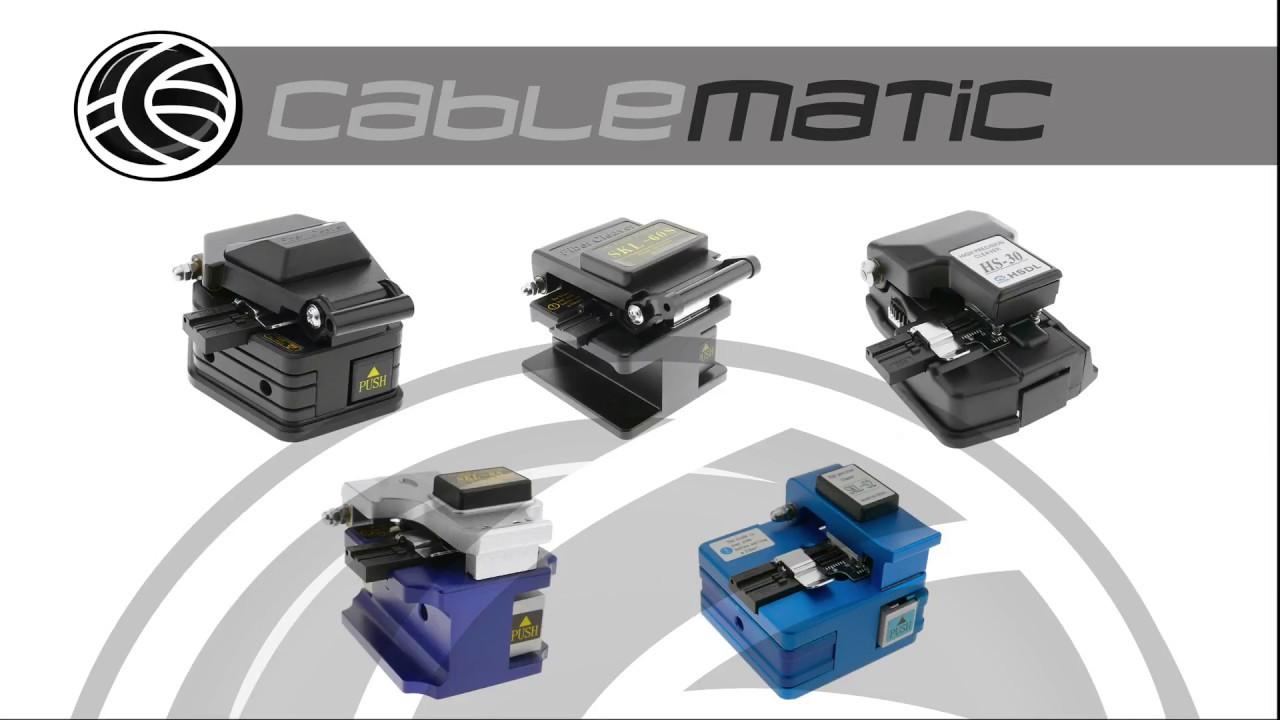 Cortadora de precisi/ón para fibra /óptica HS-30 BeMatik