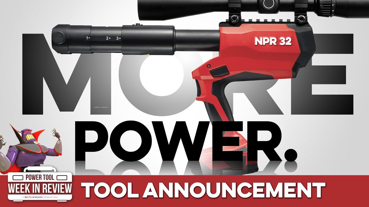 The NPR32 is BACK with MORE POWER and a KILLER new grip!
