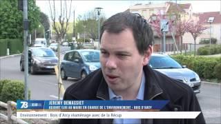 Environnement : réaménagement écologique dans les jardins municipaux de Bois d'Arcy