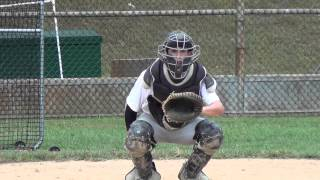 Jason Heit (Owings Mills HS 2014) baseball recruiting catcher, pitcher, outfielder