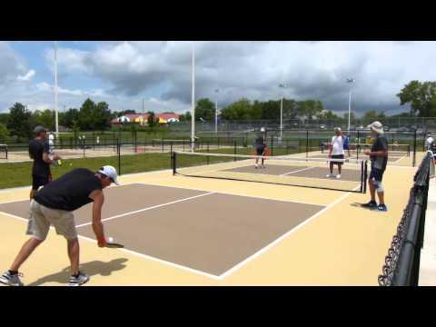 2015 Missouri Show Me State Games - Pickleball Geenen Geenen v Carlson Chimino
