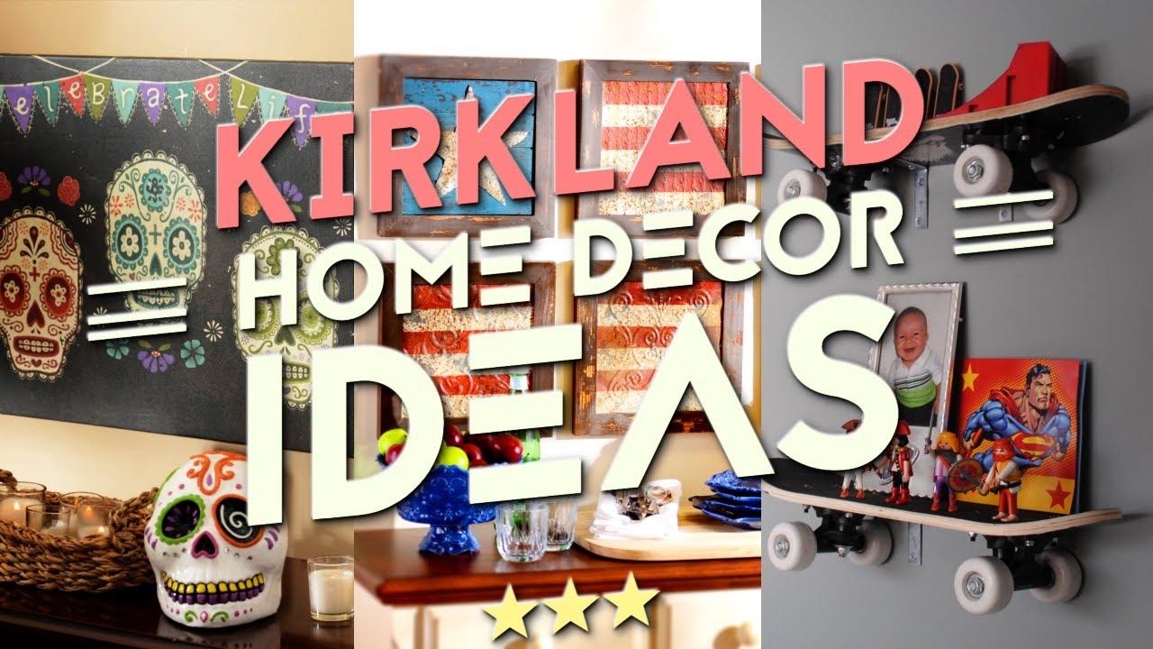 5 Kirkland home decor ideas - YouTube on Kirkland's Decor Home Accents id=55535