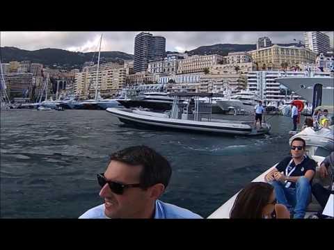 MYS Monaco Yacht Show 2016  Millionaire U boats toys Hybrid e-Trimaran