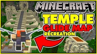 Minecraft Console Temple Glide Minigame Map in Bedrock Edtion!?