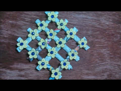 Quilling wall hanging easy 2019
