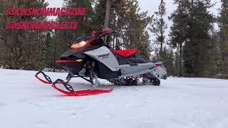 2022 Ski-Doo MXZ X-RS 850 E-TEC with Smart-Shox