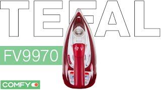 Tefal FV9970 - безпроводной утюг - Видеодемонстрация от Comfy.ua(Tefal FV9970 - беспроводной утюг французской сборки. Рабочие время без подзарядки составляет 25 сек.Узнать цену,..., 2015-08-05T07:27:19.000Z)