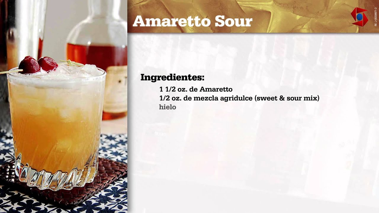 Trago Amaretto Sour - YouTube