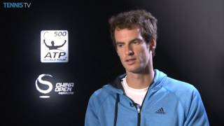 Beijing 2014 Tuesday Murray Interview