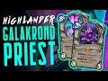 Galakrond Highlander PRIEST | Descent of Dragons | Hearthstone Expansion