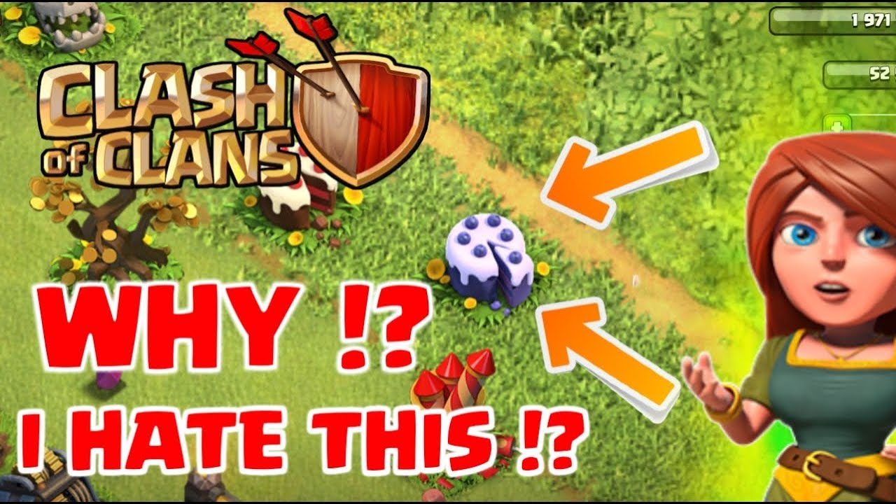 WHY I HATE 6th ANNIVERSARY !? CLASH OF CLANS!
