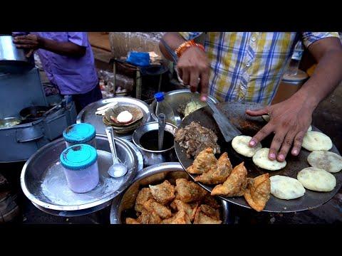 SAMOSA CHAAT: Master Of Unique Samosa Chaat Masala | Indian Street Food